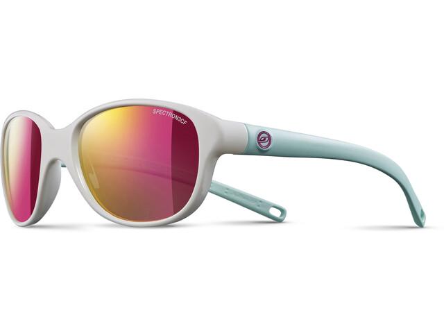 Julbo Kids 4-8Y Romy Spectron 3CF Sunglasses Shiny White/Blue-Multilayer Pink
